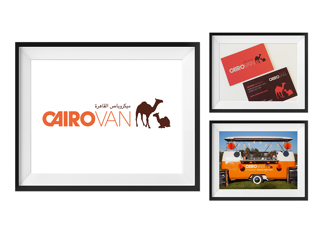 Cairovan Brand Creation | Stationery | Livery | Clothing
