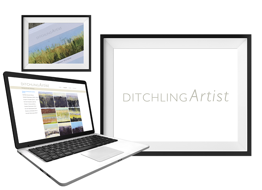 Ditchling Artist Greeting Cards | Invitations | Leaflets