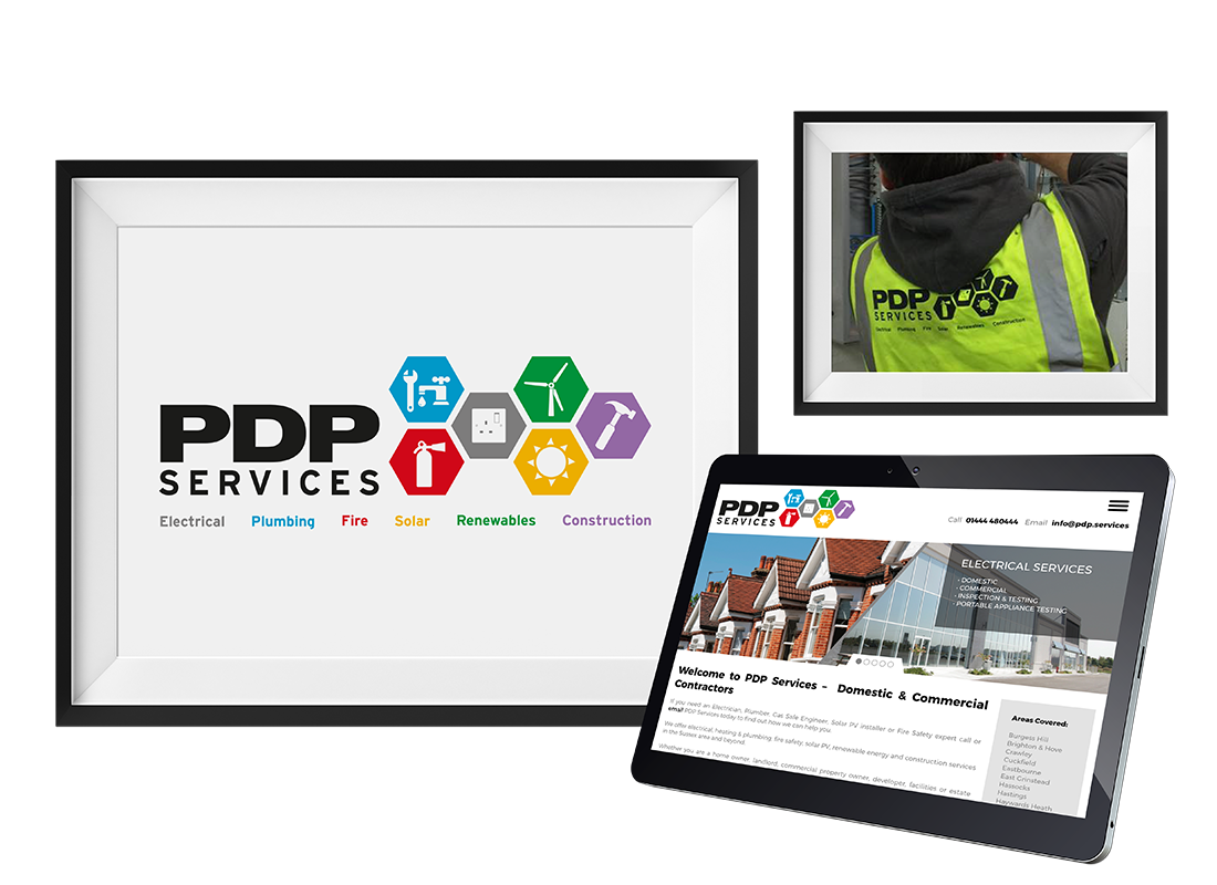 PDP Stationery  | Clothing | Van design