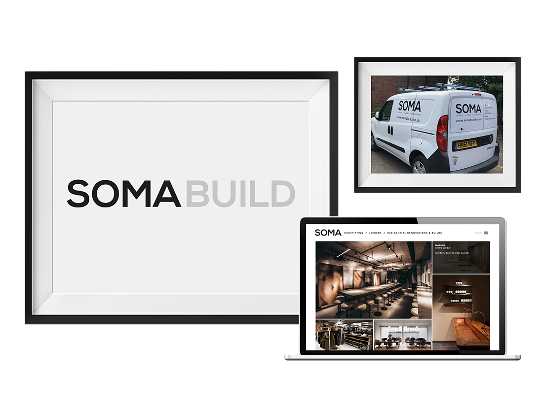 Soma Van Wrap | Stationery |  Advertising