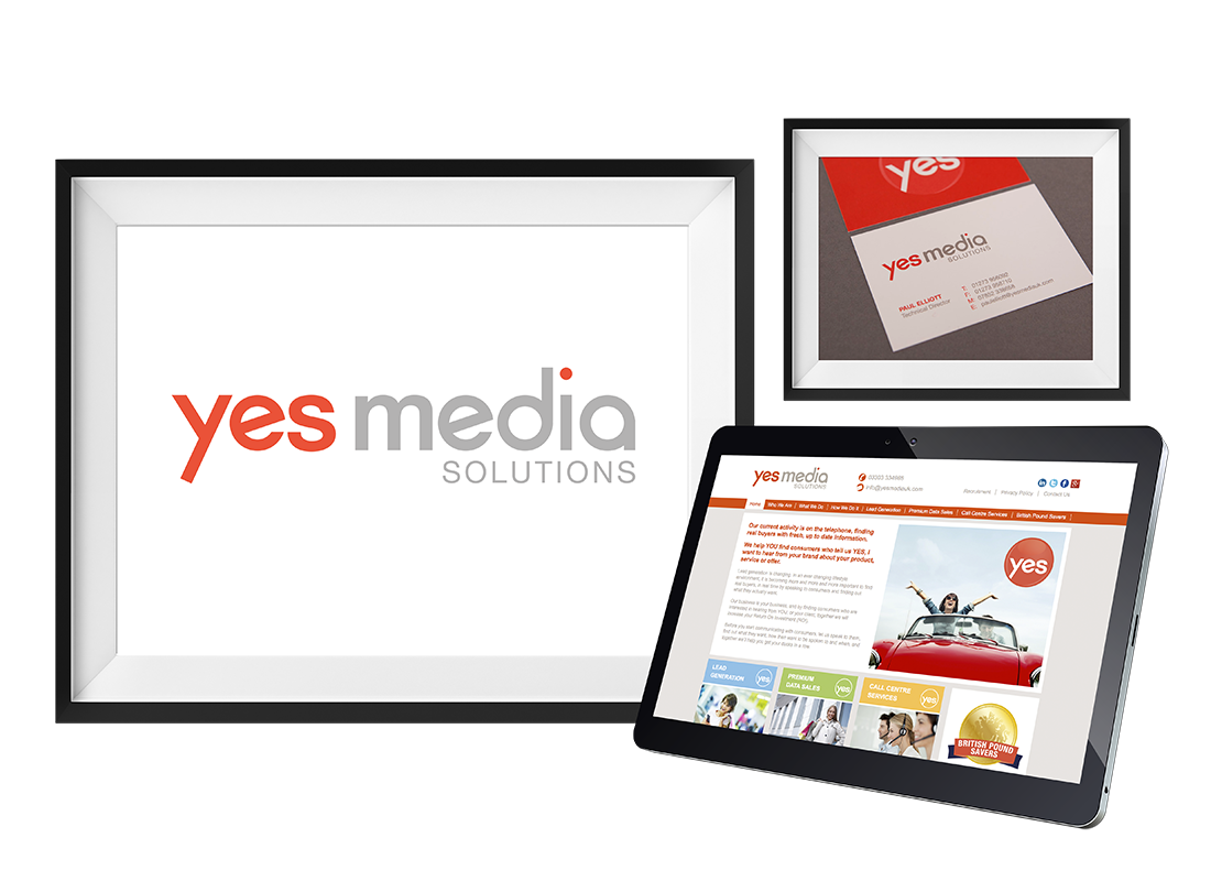 Yes Media Brand development | Stationery