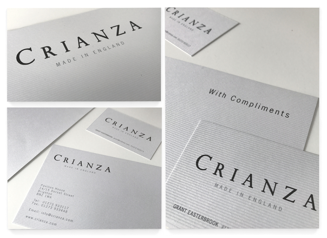 Crianza Stationery Design | Signage