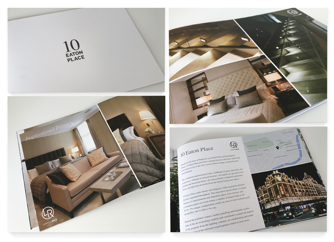 Eaton Place Brochure Design
