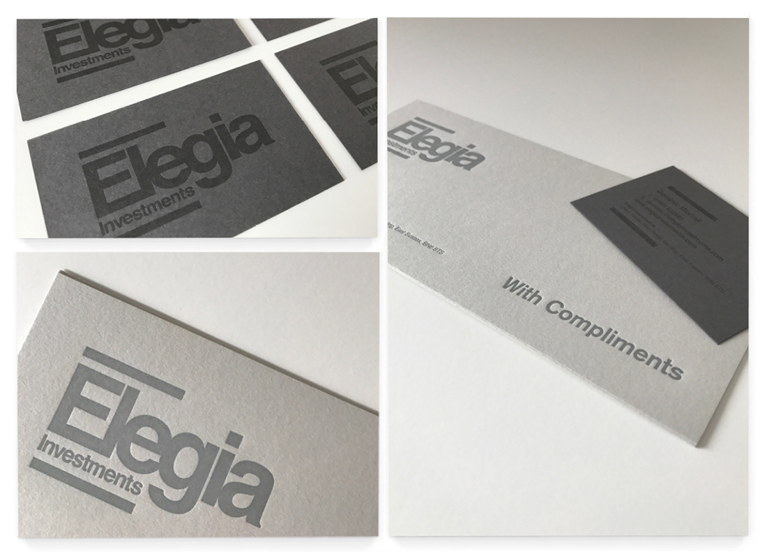 Elegia Stationery Design