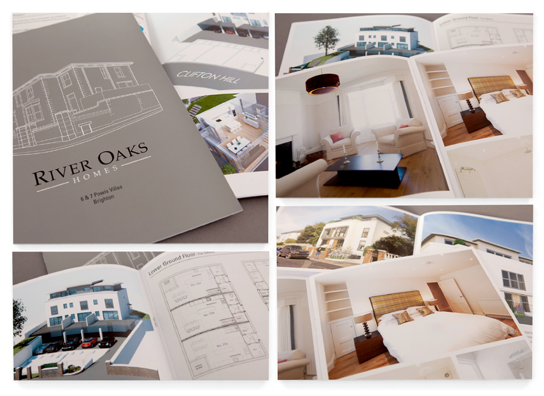 River Oaks -- Brochure Design | Stationery Design | Large Format Banner Design