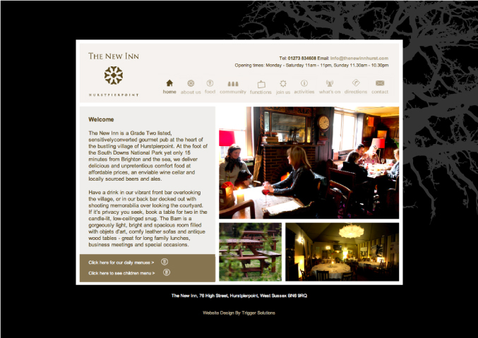 new inn website