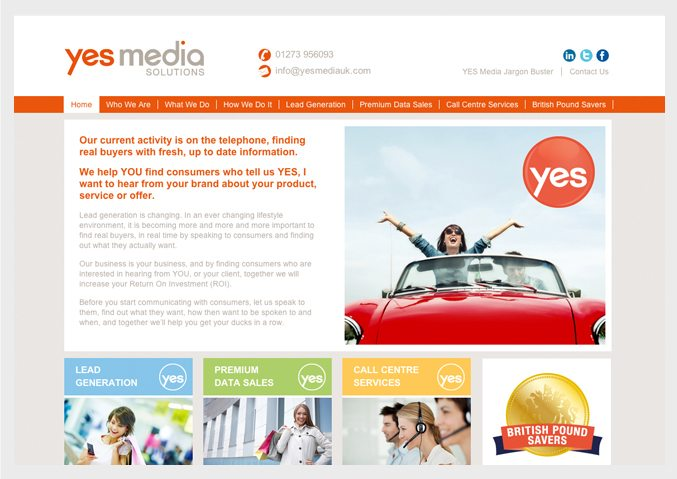yes media website