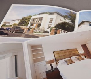 River Oaks Homes – Brochure Design